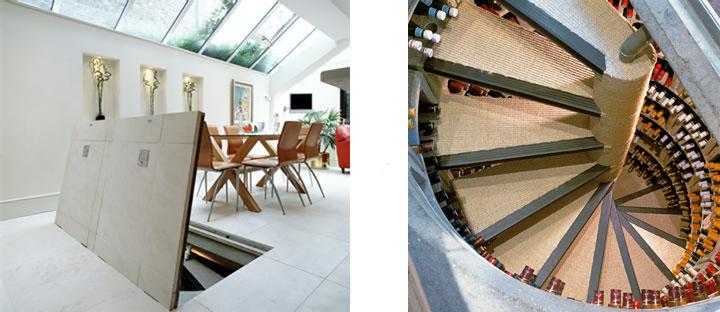 Cellar Doors In Floors Wine Design & Spiral Wine Cellar In Floor | Credainatcon.com