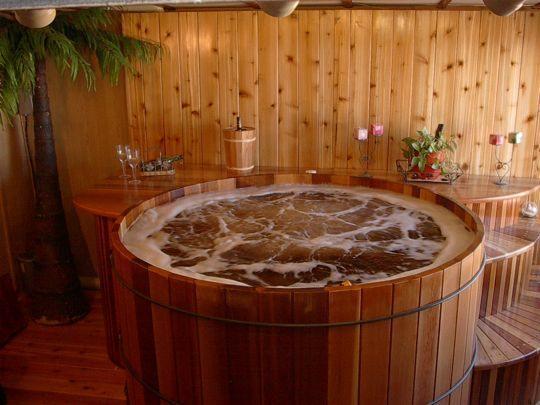 Wine Barrel Bathtubs