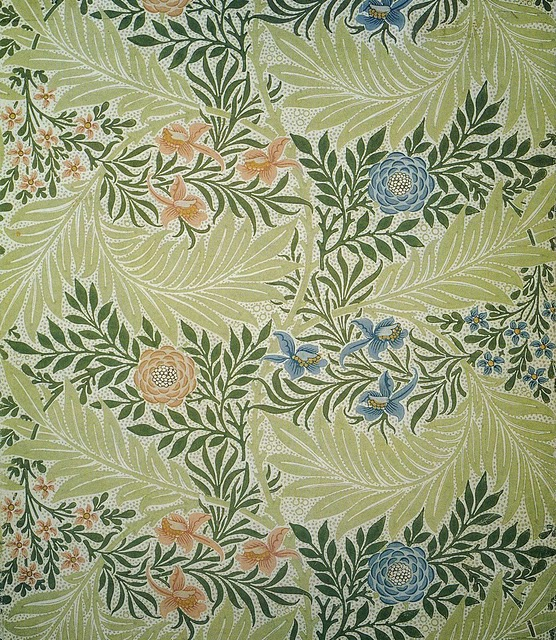 William morris-morris&co-1872-larkspar 2
