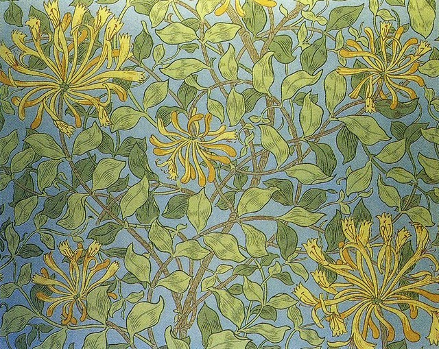 William morris-morris&co-1883-honeysuckle 1 2